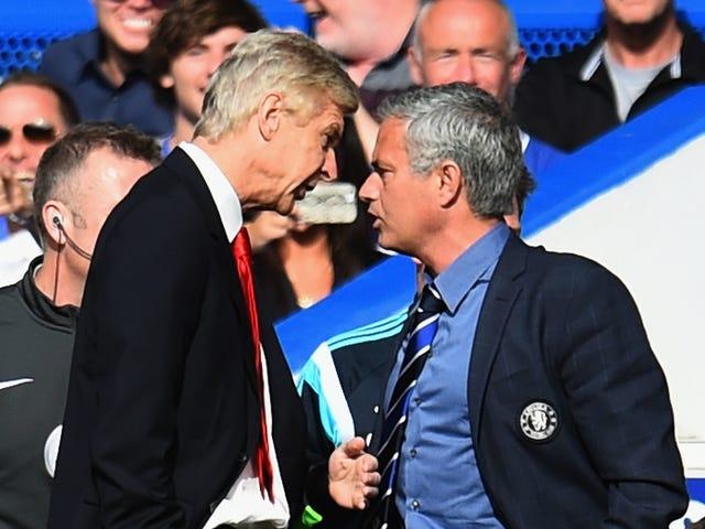 Arsène Wenger Disses José Mourinhon parhaimmalla mahdollisella tavalla