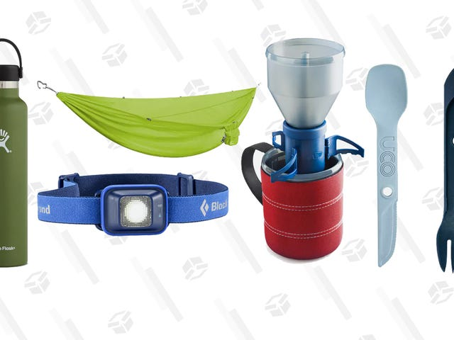Gear Up For Your Next Camping Trip with This Huckberry Sale