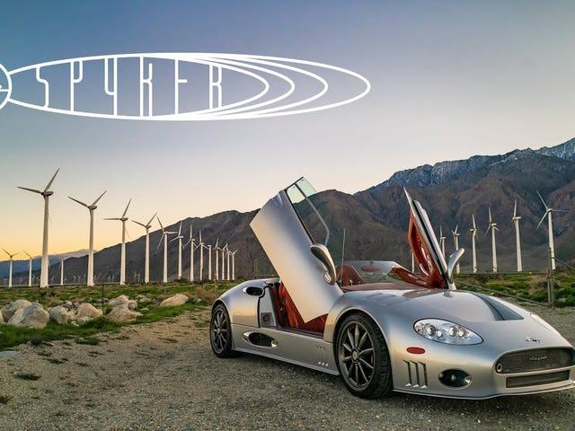 Spyker C8 Spyder är en triumf av fordonsdesign