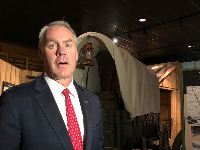 Ryan Zinke Will Be Drilling Oil Fields in Trump Official Heaven Now