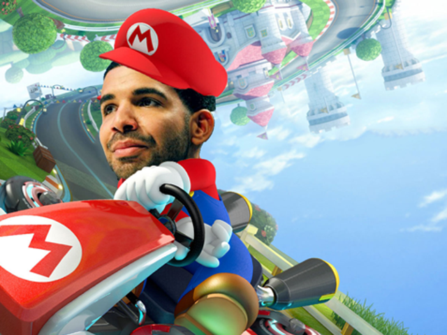 Someone Made A Drake-Mario Kart Mash-Up And It's Great