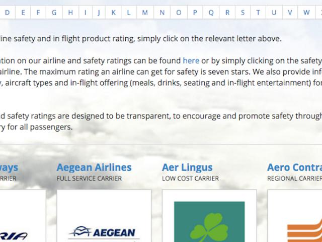 Senarai Penilaian Penerbangan Semua Yang Perlu Anda Ketahui Tentang Penerbangan dan Rekod Keselamatan