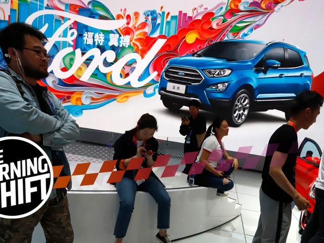 De Amerikaanse automerken zijn aan het verliezen in China