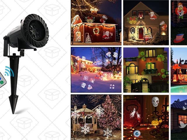 Decorate the Outside of Your House For the Holidays With the Push of Button, Just $30