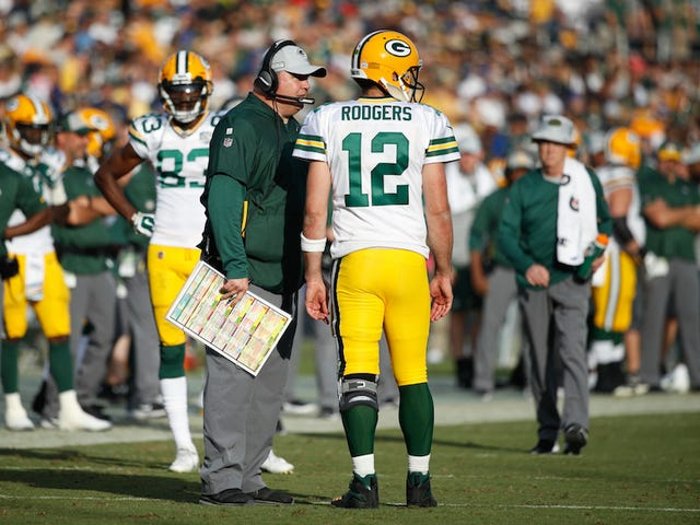 Sounds Like Aaron Rodgers And Mike McCarthy Are Pretty Well Sick Of Each Other