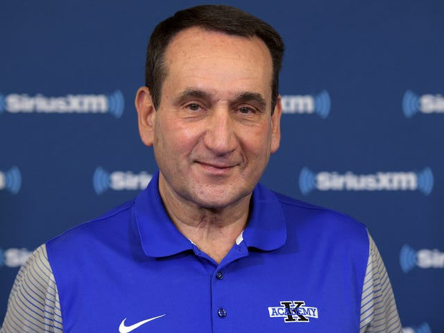 Smarmy Coach K Says His College Basketball Isn't Dirty At All