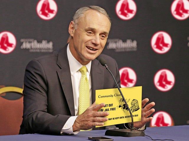 MLB lähettää selkeän viestin: Mene eteenpäin, huijaa perseesi pois