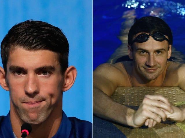 Ryan Lochte Is, Like, Kinda Upset His Frenemy Michael Phelps Never Called