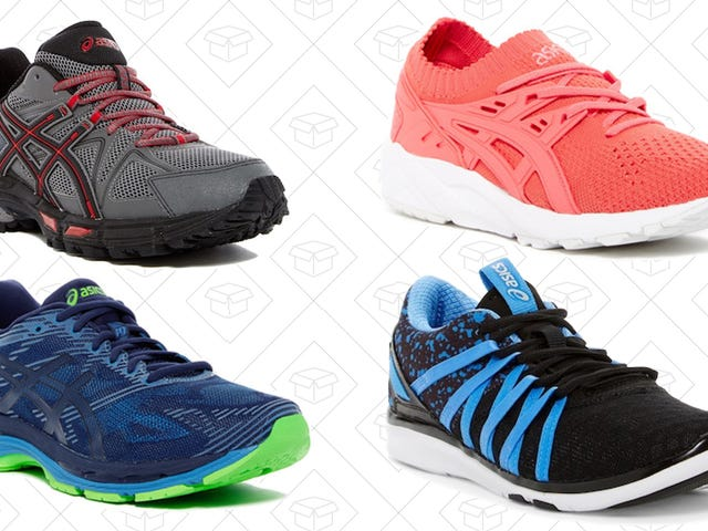 Leave Your Old Running Shoes in the Dust With This ASICS Sale