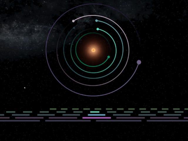 Cómo una <i>sinfonía cósmica</i> habría evitado la destrucción del sistema Trappist-1