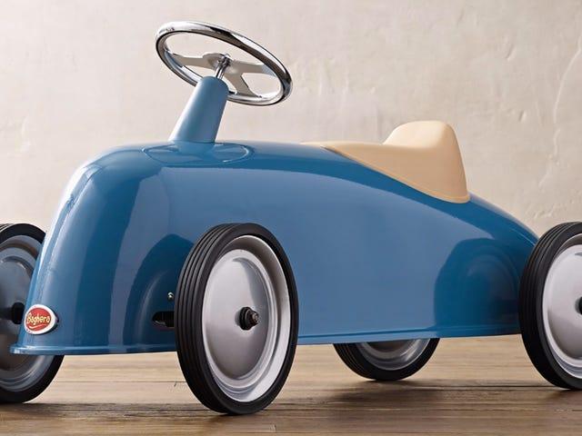 De slanke linjer af denne Ride-on Roadster er den bedste grund til at have børn