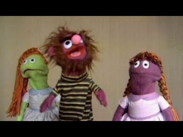 "Sesame Street - ""The Original Mah-Na, Mah-Na"" (1969)"