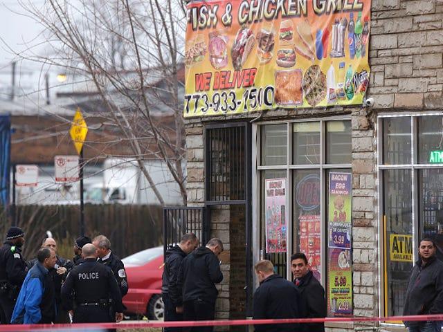 Chicago Mom hancur setelah melihat dia 2 anak laki-laki ditembak jatuh di restoran tempat dia bekerja