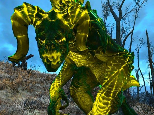 <i>Fallout 4</i> Player construit une île remplie de griffes de mort avec un nouveau DLC