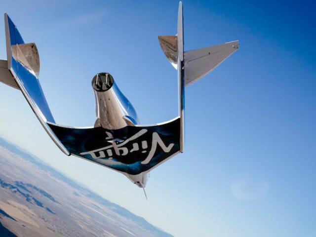 Un nuevo paso hacia el turismo espacial: la nave Virgin Galactic alcanza el espacio por primera vez