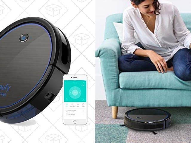 Suck Up To $95 In Savings On Anker's New RoboVac For Pet Owners