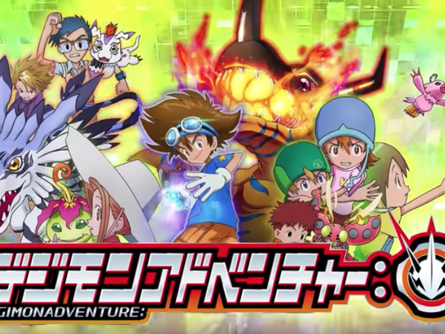 Ny Digimon TV Anime Reboot Coming This Spring