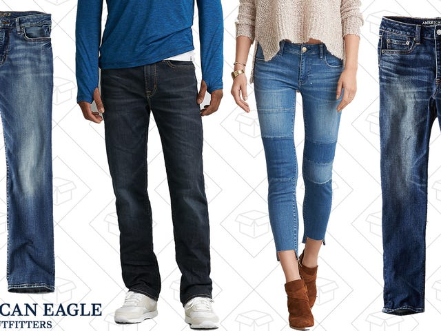 Palawakin ang Iyong Denim Collection sa BOGO 50% Off American Eagle Jeans