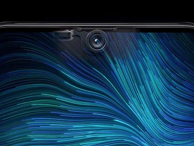 Oppo's Selfie-camera onder het scherm doet inkepingen aanvoelen als een plaatsaanduiding voor een luie vormgeving