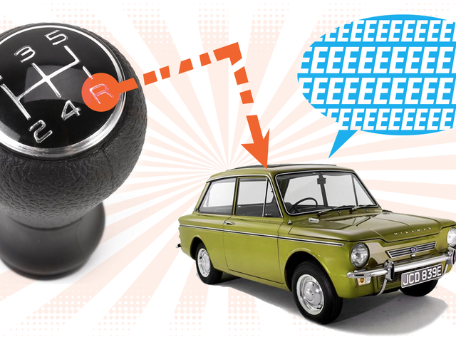 This Is Why Your Car Makes That Weird Whining Sound In Reverse