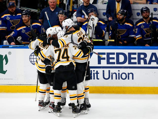 Tuukka Rask And The Bruins Spoil St. Louis's Party, Force Game 7