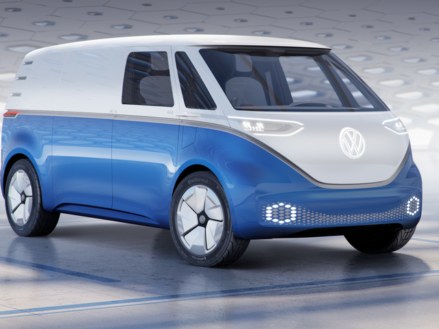 Volkswagen Shows Off Cargo Van Version of Its Reborn Electric Microbus