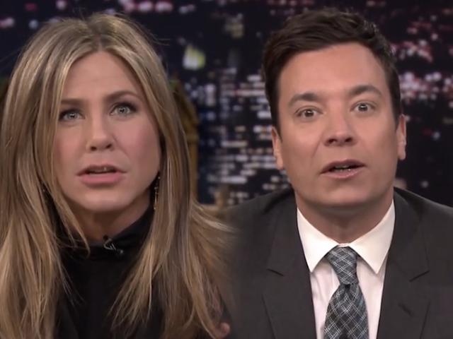 Tonton Jennifer Aniston dan Jimmy Fallon Flip Lips, Get Weird
