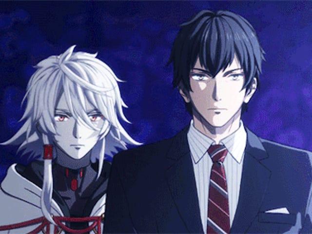 In the last episode of: Seikaisuru Kado (ep. 2 + ep. 3)