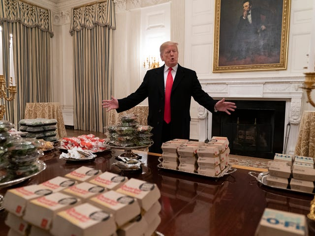 A Real Prize: On Her Birthday, Trump Administration Takes Aim at Michelle Obama's School Nutrition Standards