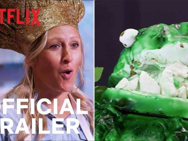 Oh hello, it's a trailer for Nailed It! season three