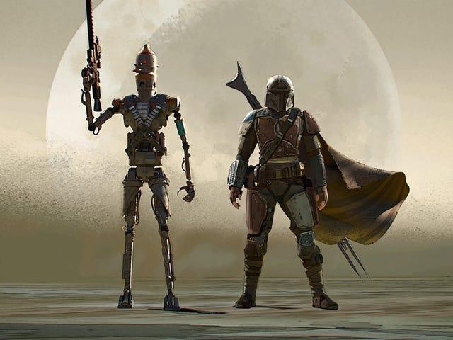 The Mandalorian Is Built On Classic Star Wars Art