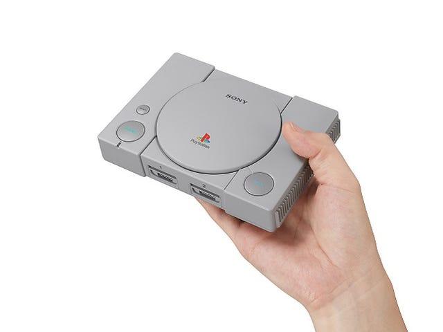 PlayStation Classic saa suuren hinnanalennuksen, joka sanoo erän
