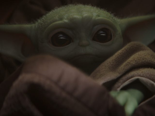 Bide your time until the next Mandalorian episode with some Baby Yoda concept art