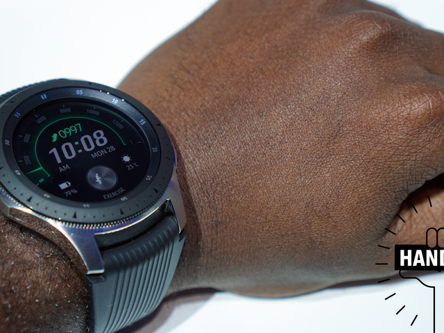 The Samsung Galaxy Watch is Cute, But Way Too Big