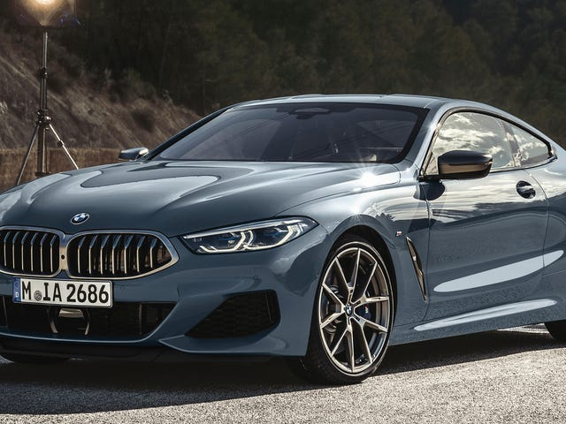 The 2019 BMW 8 Series Coupe Is A 530-HP V8 Stunner