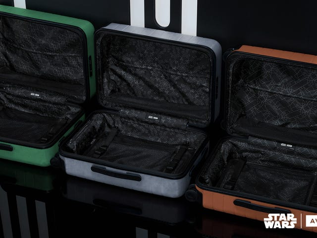 Away Goes To A Galaxy Far Far...Away With Limited Edition Star Wars Bags