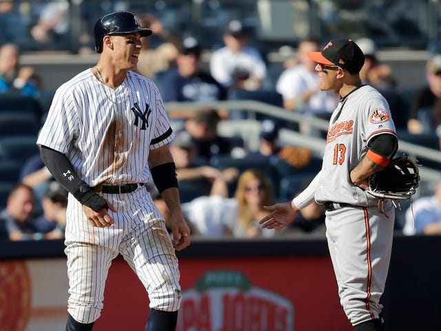 MLB Tells Aaron Judge To Stop Saying Nice Things About Manny Machado