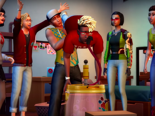 Finally The Sims 4 Gets College, And 'Juice Pong'