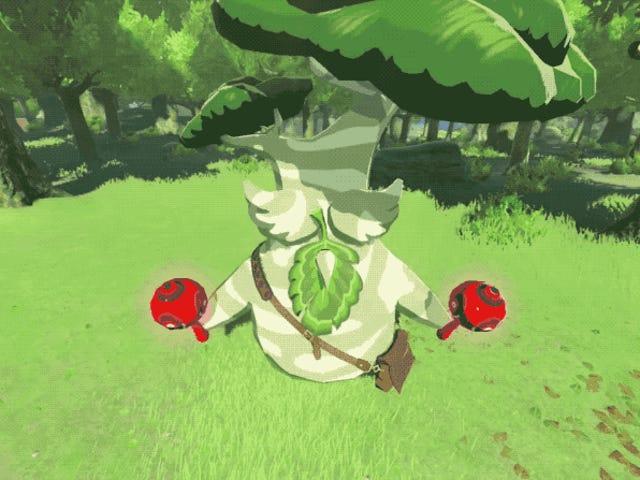 La recompensa por recoger 900 semillas Korok en el nuevo juego de Zelda es una mierda