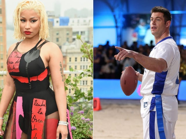 Nicki Minaj May Beef With, Uh, Dating Giants QB Jesse Palmer [Update]