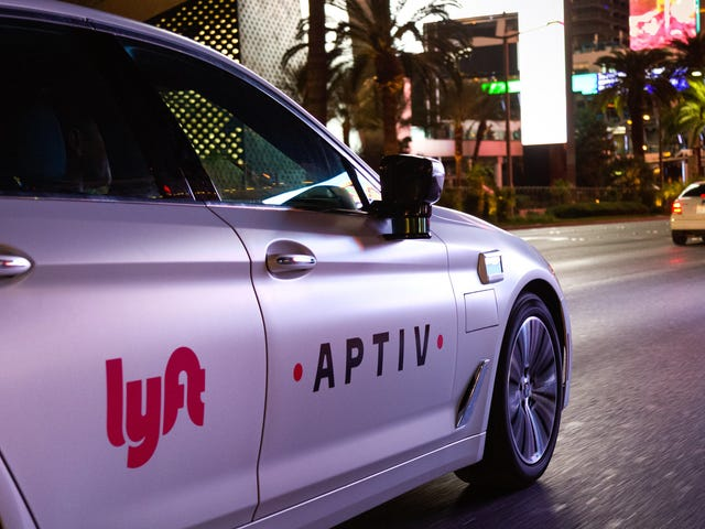 Lyft And Delphi Are Offering Autonomous Taxi Rides To Attendees At This Year's CES Conference