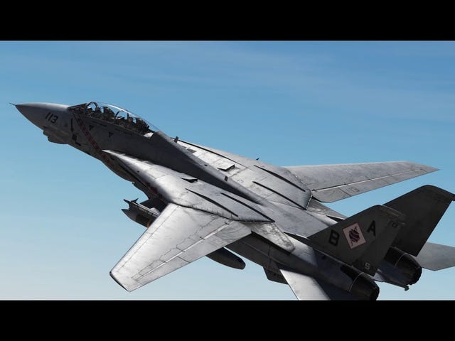 The graphics on the DCS F-14 add-on are just insane