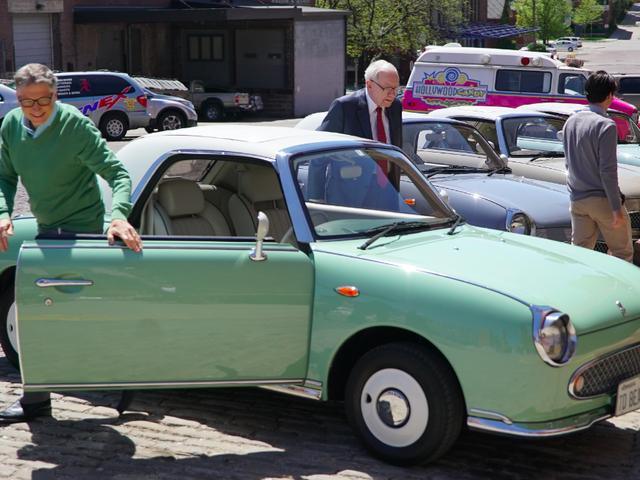 How We Helped Get Bill Gates and Warren Buffett Into A Nissan Figaro