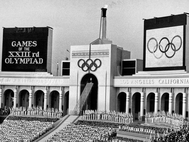 Igrzyska Olimpijskie 1984 były złe dla biednych czarnych ludzi w Los Angeles