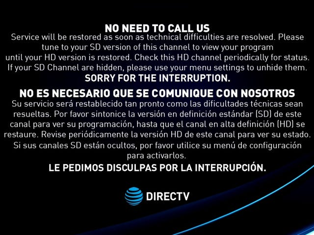 DirecTV Technical Issue Blocks Out Fox News and Republicans Are Freaking Out