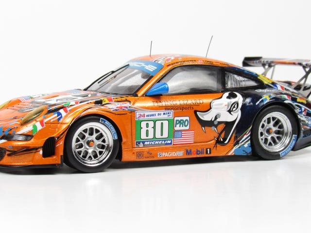 Flying Lizard Motorsports Porsche 911 GT3 RSR Art Car