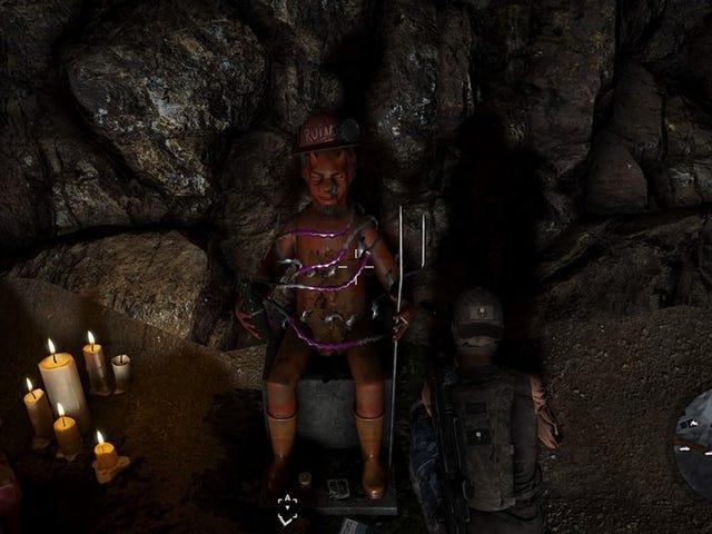Les statues effrayantes du diable de <i>Wildlands</i> des vraies mines d&#39;argent boliviennes