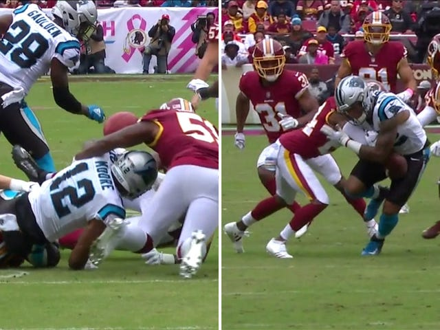 Panthers Rookie D.J. Moore Had An Utterly Disastrous First Half