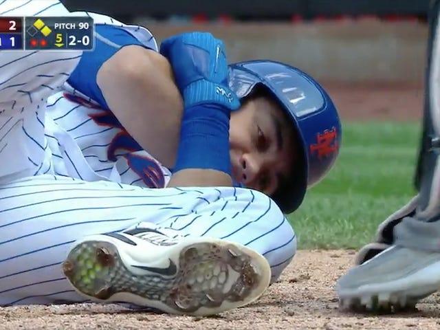 Coisa ruim acontece ao jogador Mets