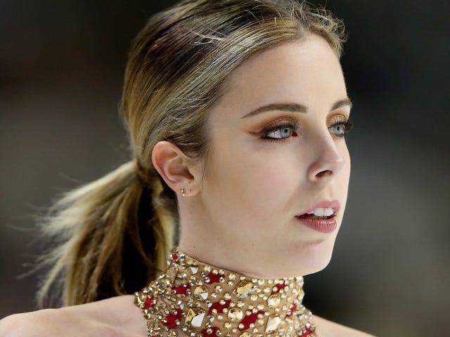 Ashley Wagner, patineuse artistique, commente à 17 ans qu'elle a été agressée sexuellement